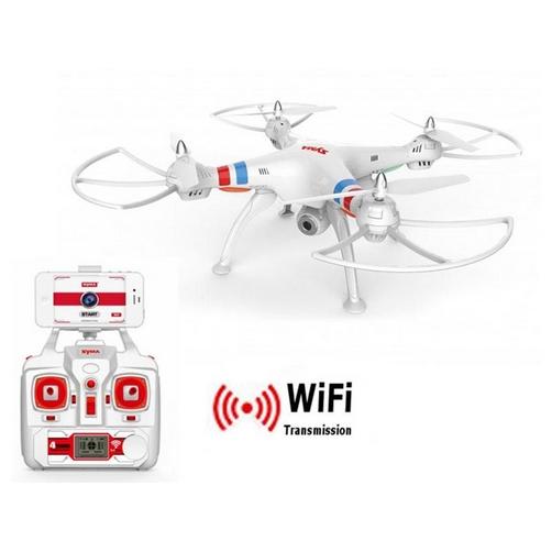 Elicottero Yoshi : R c drone radiocomandato syma quad copter w bianco g