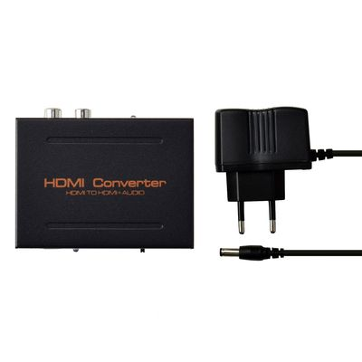 CONVERTITORE DA HDMI A HDMI + AUDIO DIGITALE SPDIF + L R