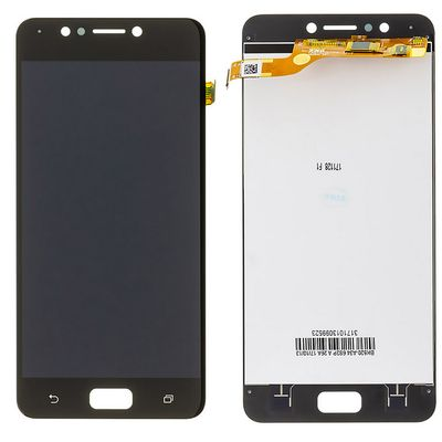 LCD DISPLAY TOUCH SCREEN E VETRO NERO PER ASUS ZENFONE 4 MAX ZC520KL