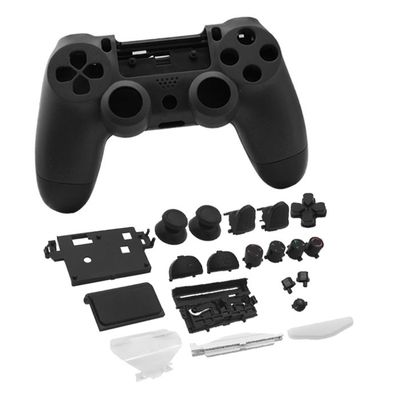 PS4 SLIM CONTROLLER GUSCIO DI RICAMBIO FULL CASE SET 4.0 NERO