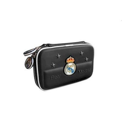 3DS / DSI / DS LITE CARRY CASE CUSTODIA REAL MADRID NERA TALISMOON