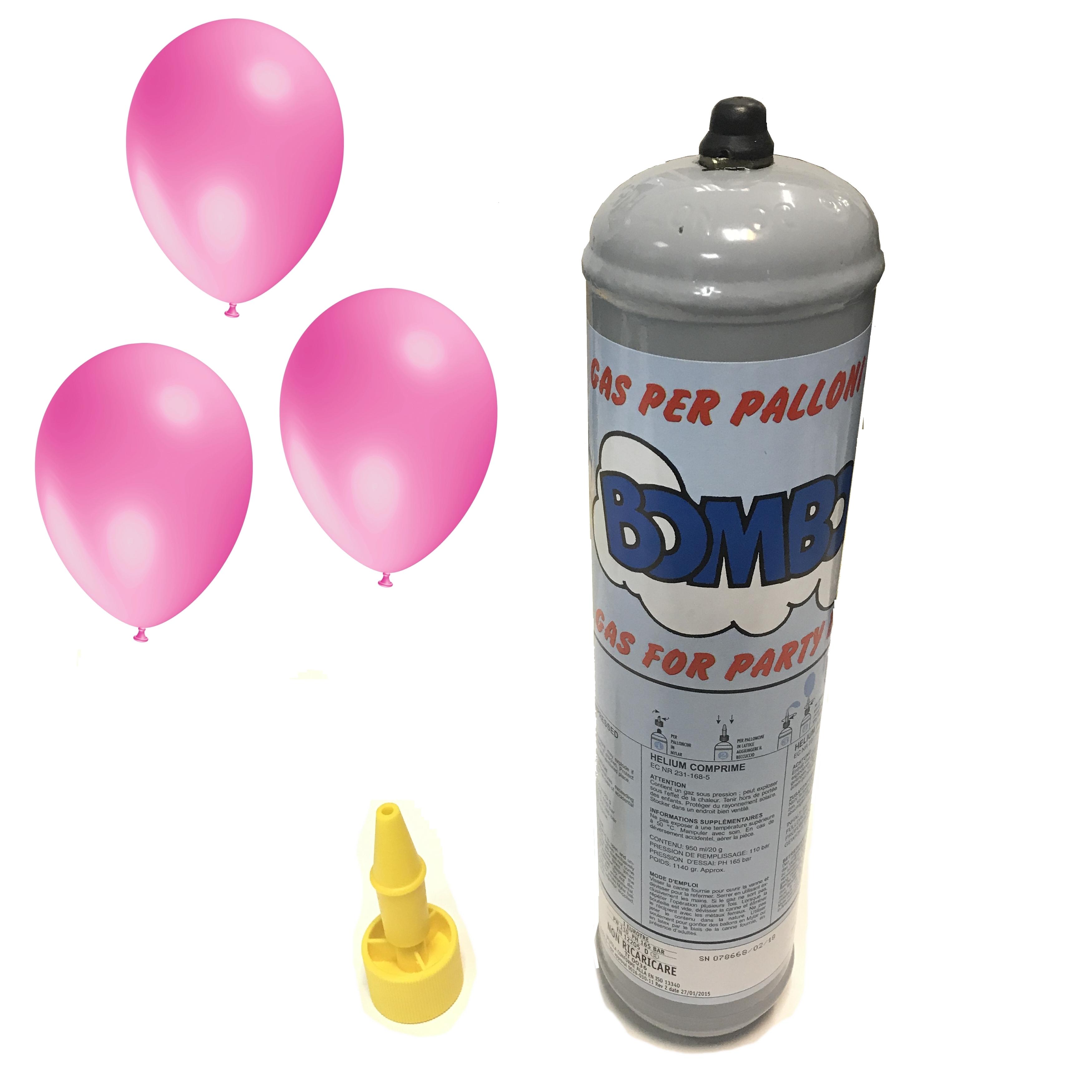 Bombola gas elio usa e getta ml palloncini feste complean
